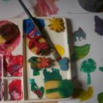 Creatief bezig